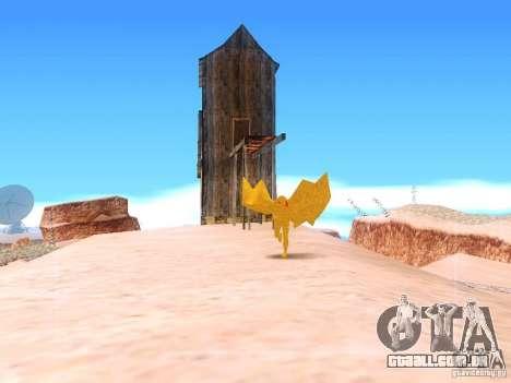 The Mothman para GTA San Andreas terceira tela