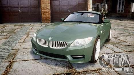 BMW Z4 sDrive35is 2011 v1.0 para GTA 4