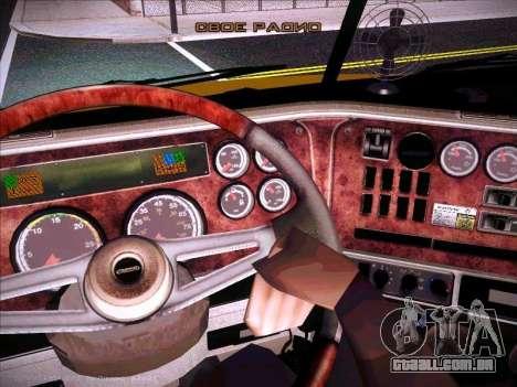 Freightliner Century Classic para GTA San Andreas vista superior