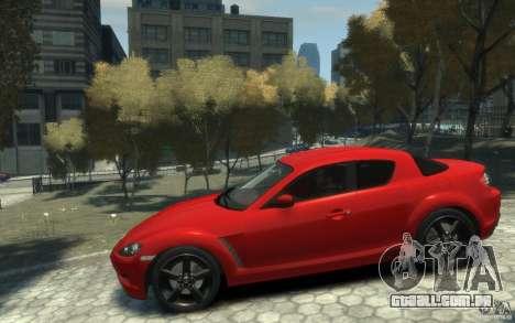 Mazda RX-8 (2006) para GTA 4 esquerda vista