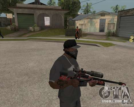 Accuracy International L96A1 para GTA San Andreas