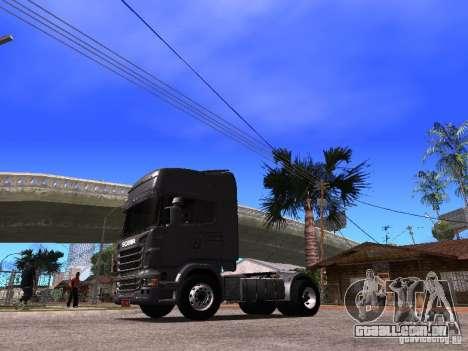 Scania R-440 para GTA San Andreas traseira esquerda vista