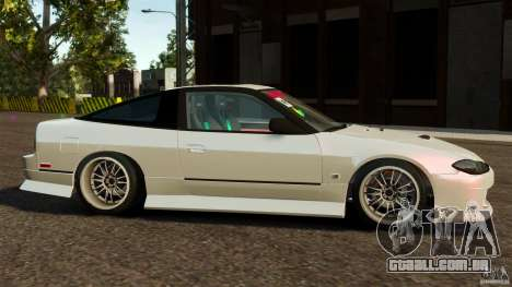 Nissan 240SX facelift Silvia S15 [RIV] para GTA 4 esquerda vista