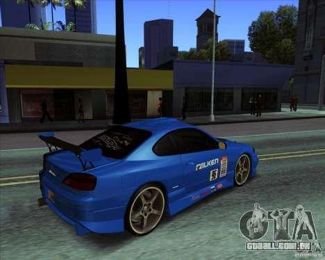 Nissan Silvia S15 para GTA San Andreas vista direita