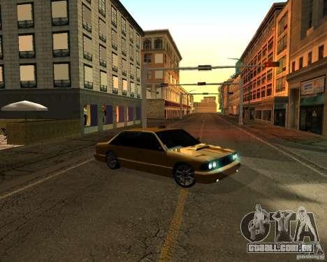 Azik Taxi para GTA San Andreas traseira esquerda vista