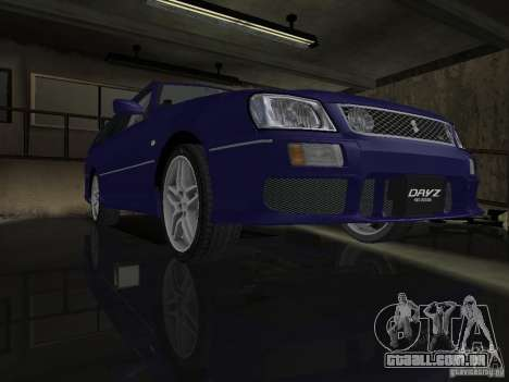 Nissan Stagea 25RS four S para GTA San Andreas vista traseira