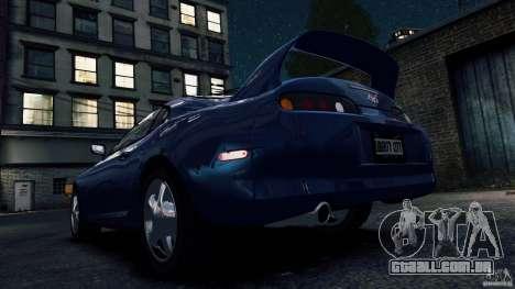 Toyota Supra RZ 1998 para GTA 4 vista de volta