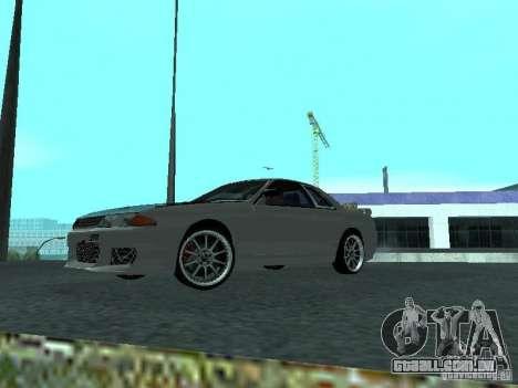 Nissan Skyline R32 Tuned para GTA San Andreas esquerda vista