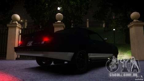 Sabre Convertible para GTA 4 vista interior