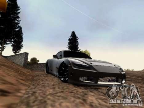 Mazda RX7 Tuning para GTA San Andreas esquerda vista