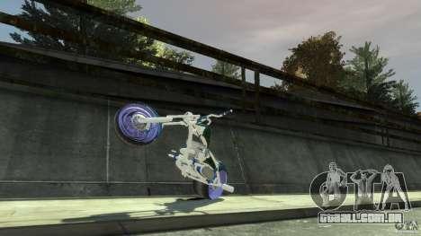 HellFire Chopper para GTA 4 vista interior