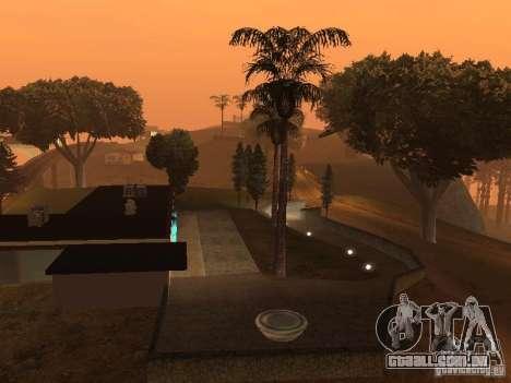 Miami House para GTA San Andreas por diante tela