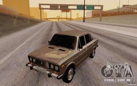 Dreno de 2106 VAZ para GTA San Andreas