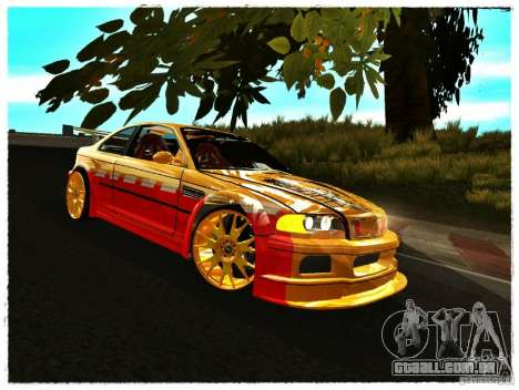 BMW M3 Calibri-Ace para GTA San Andreas