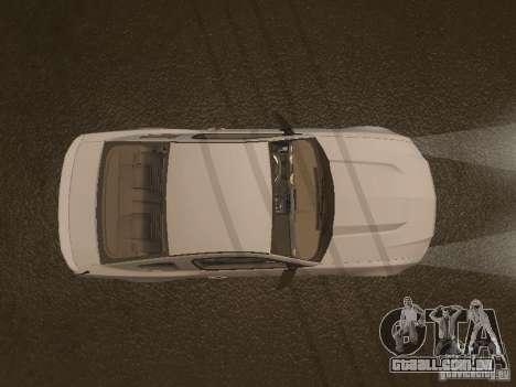 Ford Mustang 2011 GT para GTA San Andreas vista inferior