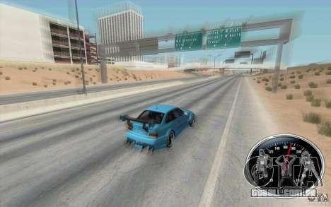 Speedometer v2 para GTA San Andreas segunda tela
