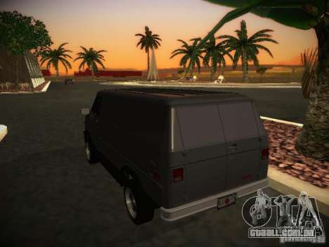 GMC Vandura para GTA San Andreas vista direita
