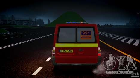 Ford Transit Polski uslugi elektryczne [ELS] para GTA 4 interior
