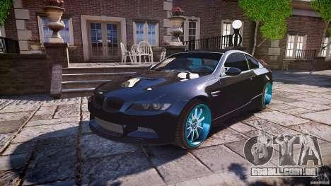 BMW E92 para GTA 4 motor