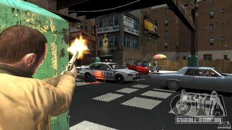 Gold Desert Eagle para GTA 4 segundo screenshot