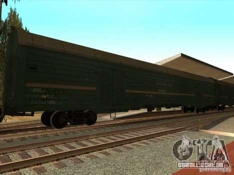 Vagão # 59004960 para GTA San Andreas