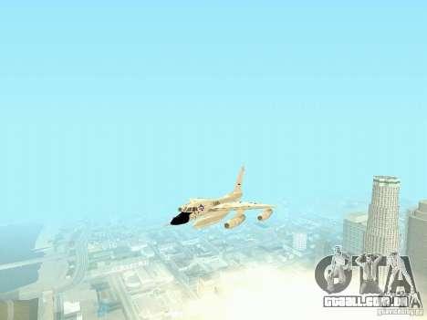 B-58 Hustler para GTA San Andreas vista traseira