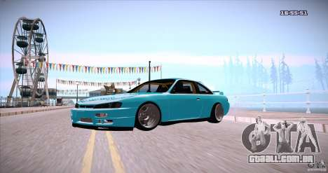 Nissan Silvia S14 JDM WAY para GTA San Andreas vista direita