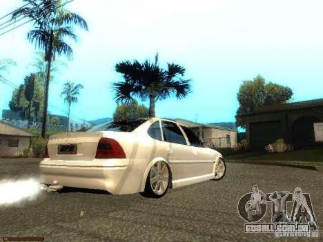Chevrolet Vectra CD 2.2 16V 2003 para GTA San Andreas traseira esquerda vista