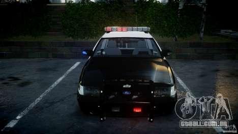 Ford Crown Victoria SFPD K9 Unit [ELS] para GTA 4 vista superior