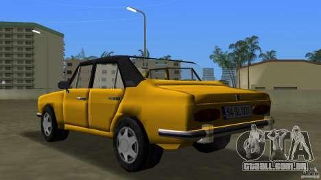Anadol A1 SL para GTA Vice City vista traseira esquerda