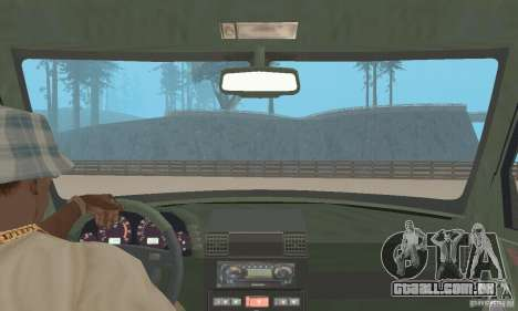 Land Rover Discovery 2 para GTA San Andreas vista traseira