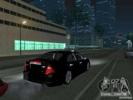 Ford Fusion para GTA San Andreas vista direita