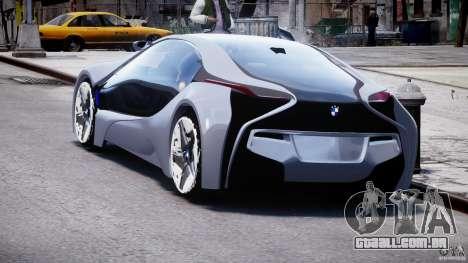 BMW Vision Efficient Dynamics v1.1 para GTA 4 traseira esquerda vista
