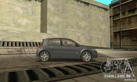 Renault Megane II 2005 para GTA San Andreas vista direita