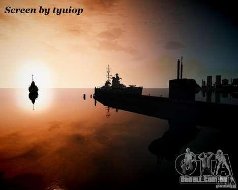 Marinha para GTA 4 por diante tela