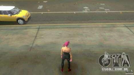 Girl Player mit 11skins para GTA Vice City oitavo tela