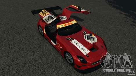 Mercedes-Benz SLS AMG GT3 2011 v1.0 para GTA 4 vista inferior