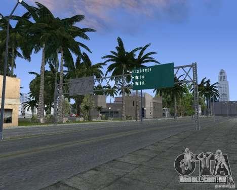 Estrada sinais v 1.1 para GTA San Andreas sexta tela