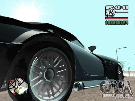 Banshee de GTA IV para GTA San Andreas vista direita
