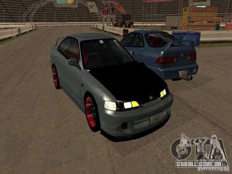 Honda Integra TypeR para GTA San Andreas traseira esquerda vista