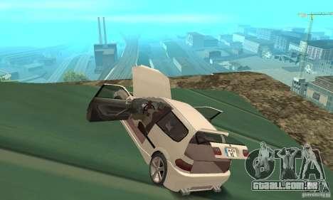 Honda Civic SiR II Tuning para GTA San Andreas vista interior