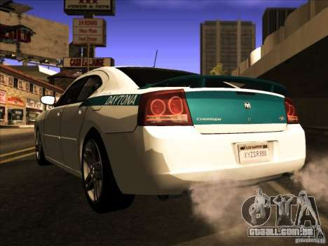 Dodge Charger R/T Daytona para GTA San Andreas vista interior
