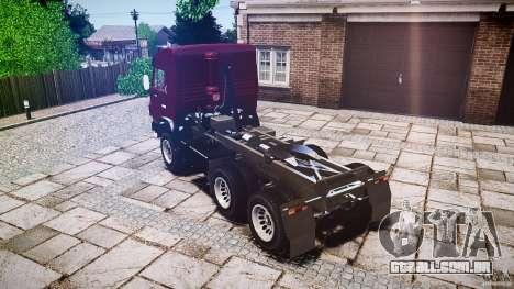 KAMAZ 5410 para GTA 4 vista interior