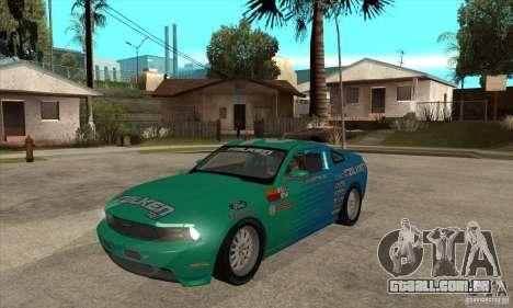 Ford Mustang GT Falken para GTA San Andreas