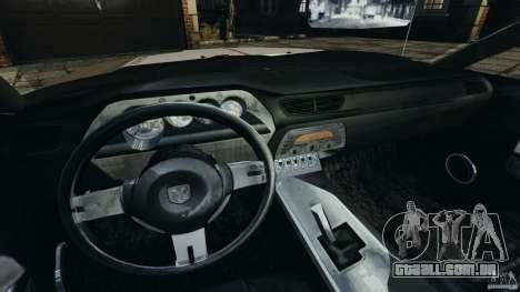 Dodge Challenger Concept 2006 para GTA 4 vista de volta