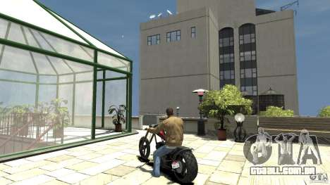 The Lost and Damned Bikes Diabolus para GTA 4 traseira esquerda vista