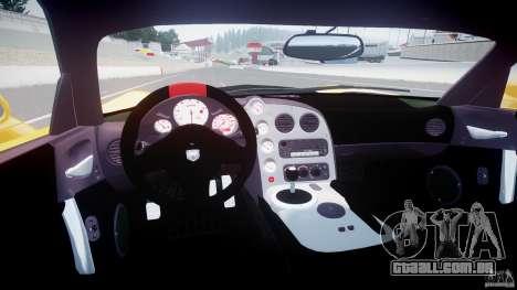 Dodge Viper SRT-10 ACR 2009 v2.0 [EPM] para GTA 4 vista direita