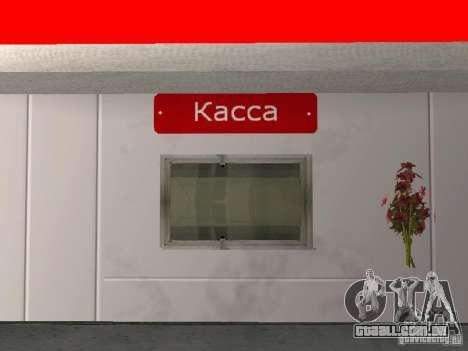 Posto de gasolina Lukoil para GTA San Andreas quinto tela
