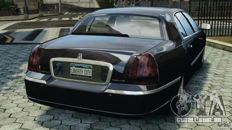 Lincoln Town Car 2006 v1.0 para GTA 4 traseira esquerda vista