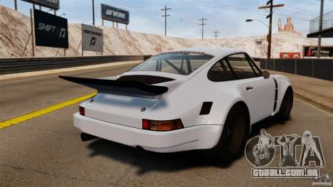 Porsche 911 Carrera RSR 3.0 Coupe 1974 para GTA 4 traseira esquerda vista